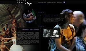 Sito Web per Costumista Cinema e Teatro internet - webdesign Internet - Webdesign grafica pubblicitaria cartelli r Internet Webdesign 01