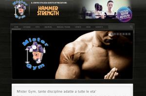 Sito web per Palestre Circoli Sportivi internet - webdesign Internet - Webdesign mister gym