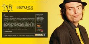 Sito Web per Musicisti - Cantanti internet - webdesign Internet - Webdesign piji small