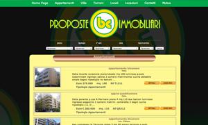 sito WEB per Agenzia immobiliare internet - webdesign Internet - Webdesign sito bc immobiliare1