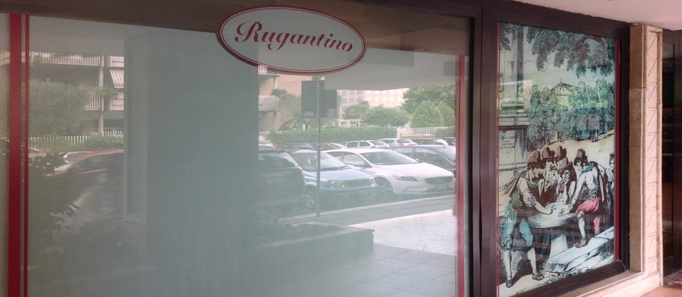 vetrofanie Vetrofanie - Ristorante Rugantino di Roma grafica pubblicitaria a roma VETROFANIE     RISTORANTE RUGANTINO DI ROMA 02