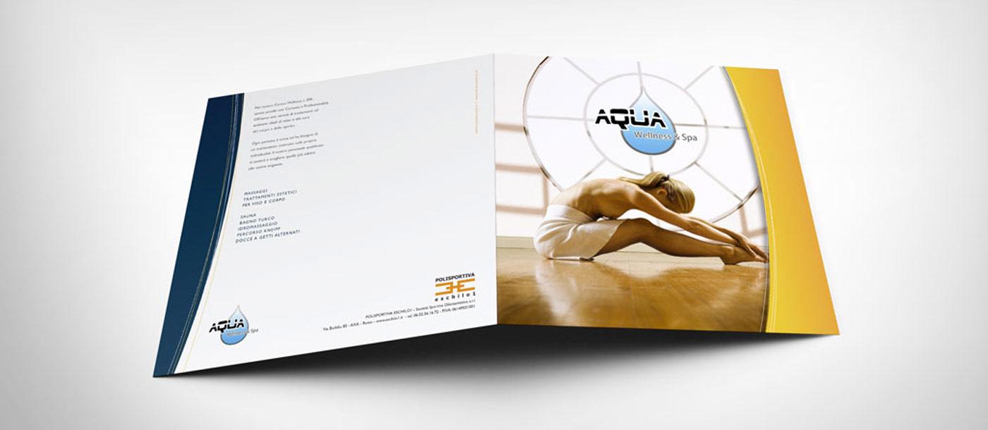 aqua wellness & spa Aqua Wellness & Spa grafica pubblicitaria a roma AQUA Wellness Spa 01