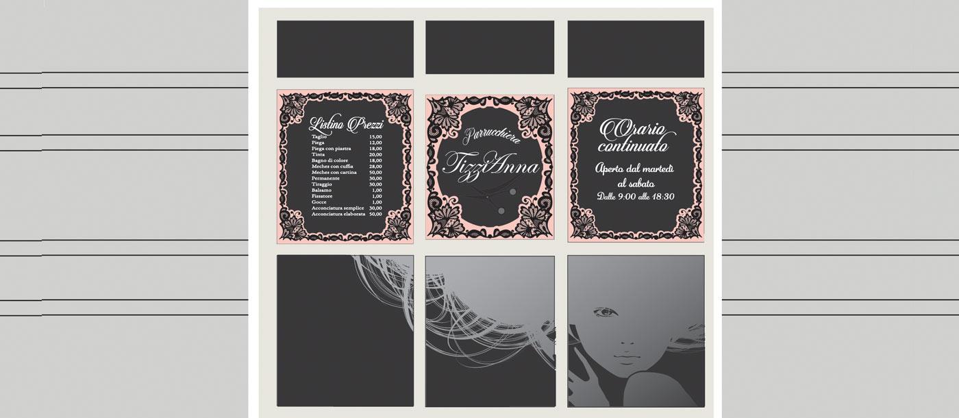 Stampa Adesivi e Scritte Prespaziate per vetrina Stampa Adesivi e Scritte Prespaziate per vetrina grafica pubblicitaria a roma Scritte su vetrina 01