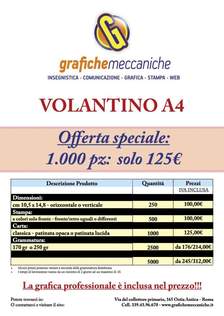 Listini 7 Listini Listini grafica pubblicitaria a roma Listini 07