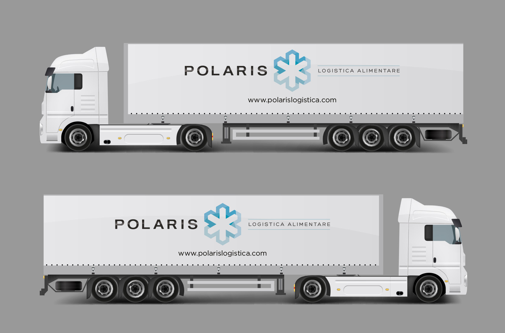 {focus_keyword} Allestimento grafico per bilico autoarticolato POLARIS POLARIS MOCKUP 01